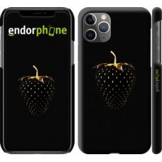 Чехол на iPhone 11 Pro Max Черная клубника 3585m-1723