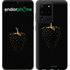 Чехол на Samsung Galaxy S20 Ultra Черная клубника 3585u-1831