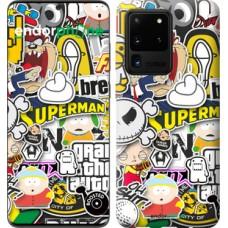Чехол на Samsung Galaxy S20 Ultra Popular logos 4023u-1831