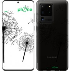 Чехол на Samsung Galaxy S20 Ultra Одуванчики 4642u-1831