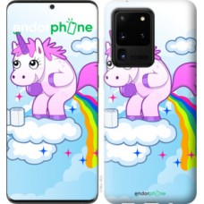 Чехол на Samsung Galaxy S20 Ultra Единорожка 3796u-1831